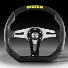 Kierownica Momo Trek 350 TUV - GRUBYGARAGE - Sklep Tuningowy